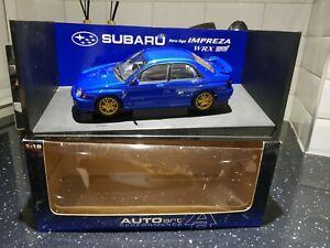 Autoart 1:18 Subaru New Age Impreza WRX STi ***RARE***