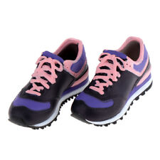 1/6 Fashion Sneakers Lace-up Shoes for BJD Doll Casual Supplies Pink Black