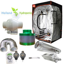 1000w Hydroponics Magnetic Fan Filter Light Grow Tent Set Up Ventilation Kit