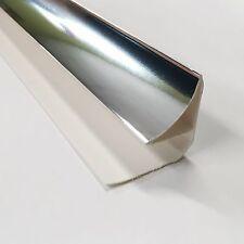 4 Chrome Coving Trims for PVC Ceiling Panels Decorative Cladding Edge Trim