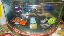 Disney Store Cars 2 7 piece Ornament Figure Play Set Tow Mater Cake Topper