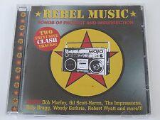 Mojo REBEL MUSIC: Bob Marley, The Clash, Dillinger, Gil Scott-Heron, Last Poets+