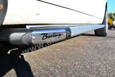 To Fit 08 - 16 Citroen Berlingo Polished Aluminium Side Running Boards + LEDs