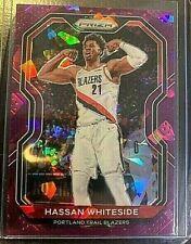 2021 Panini Prizm NBA Hassan Whiteside Rare Purple Ice Prizm Card (13/175)
