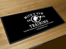 Mick's Gym Training Rocky Movie Memorabilia Bar runner pubs clubs & Cocktail