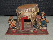Uncle Wiggily's Hollow Stump Bungalow Toy, c. 1930, Rare, Plus Bonus Book
