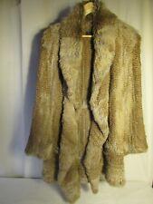 manteau METEO lapin d'élevage tricoté 38