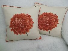 "ADELA BY JOHN LEWIS 1 PAIR OF 18"" CUSHION COVERS - DOUBLE SIDED & PIPED"