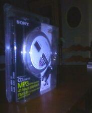 Sony CD Player Walkman MP3 AM/FM Radio DNF430 with RMMC29F Portable Remote