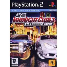 Jeux Midnight Club 3 Dub Edition Remix Sony Playstation 2 Ps2 Ps3 Fra complet