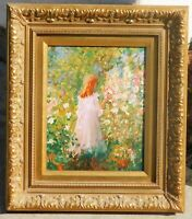 Impressionist oil on board, signed Boots, mystery artist,