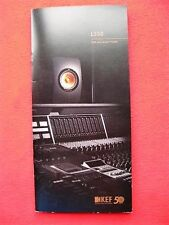 KEF LS50 - 50th ANNIVERSAY MODEL brochure.
