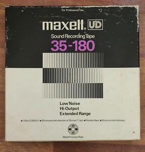 """Maxell UD 35-180 10.5"""" Metal Reel to Reel Tape"""