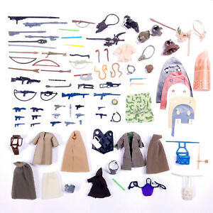 *YOU PICK* AUTHENTIC Vintage Star Wars Weapons Clothing Capes Accessories Kenner