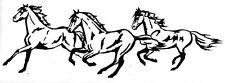 WINDOW, VEHICLE, TRAILER, 4 WHEELER, TRUCK,  HORSE VINYL DECAL