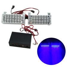 2x 22 LED Burst Flashing Light Grill Strobe Light Lamp 12V for Car Truck 5 Color