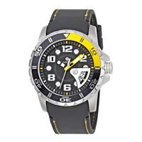 Harding Aquapro Black Dial Black Silicone Men's Watch HAR-HA0604