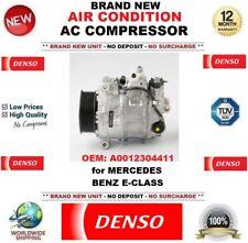 DENSO New Air Condition AC COMPRESSORE OEM: A0012304411 per MERCEDES BENZ E-Class
