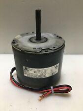EMERSON K55HXCYT-6695 Condenser Fan Motor 1075RPM 1/3HP HQ1064887EM used #MC467
