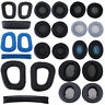 2pcs Replacement Ear Pads Cushions Cups Cover for Logitech Headphone Headset
