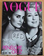 Vogue Paris ~ #907 May 2010 ~ Penelope Cruz Meryl StreepVanessa Paradis