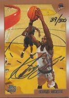 Antawn Jamison 1998 Topps Autograph RC Rookie #143 Ltd Edition 1/300 UNC