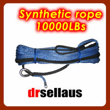 NEW DYNEEMA WINCH ROPE SK75 SYNTHETIC CABLE 30M X 10MM 4WD RECOVERY OFFROAD WARN