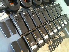 (8) MOTOROLA HT750 TWO-WAY LOW BAND RADIOS 35-50MHz 16ch AAH25CEC9AA3AN XTS CP