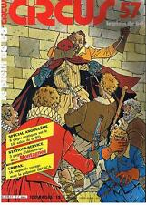 CIRCUS N° 57 LE PLEIN DE BD SPECIAL ANGOULEME GLENAT JANVIER 1983 TRES BON ETAT