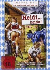 HEIDI HEIDA Parte 1 & 2 pazzo Storia d'amore Komödien aus den Bergen Box DVD