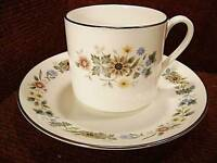 "ROYAL DOULTON ""PASTORALE"" Coffee Cup & Saucer H5002"