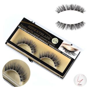 ��️HANDMADE LUXURIOUS RUSSIAN FULL VOLUME!❤️️❤️️3D REAL MINK LUXURY STRIP LASHES.