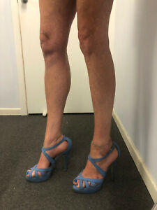Tony Bianco Size 10 Strappy Heels RRP $170 Worn To Try On