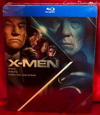 X-Men Trilogy Steelbook: X-Men / X-Men 2 / Last Stand - Import Region Free NEW