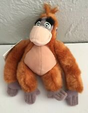 NWT Disney Store KING LOUIE BEAN BAG PLUSH Beanie 8""