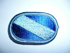US ARMY BASIC PARACHUTE WINGS COTH BACKING OVAL.6