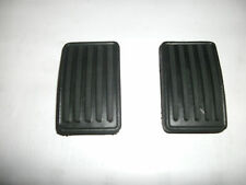 MG MIDGET, AUSTIN HEALEY SPRITE BRAKE & CLUTCH PEDAL PAD SET/2  1958-1980