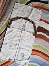 Belstaff Colonial Garment Bag Suit Carrier 100% Hemp NEW