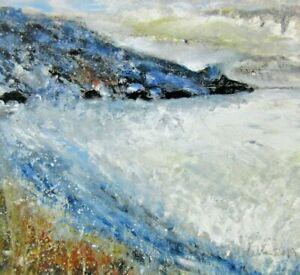Digital A4 Print of Lamorna Cove Cornwall by Ann Marie Whitton