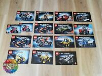 LEGO - X15 Bulk Technics Instruction Books  - Technics - 9392, 42023, 42027 +