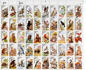 U. S. SCOTT CAT. # 2286 - 2335 FULL SHEET MNH