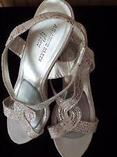"Michelle D Cork Upper Wedge Heels Size 9 1/2"" M"