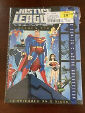 Justice League Unlimited - The Complete Second Season, Season 2, Dvd New!