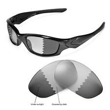 New Walleva Polarized Transition/Photochromic Lenses For Oakley Straight Jacket