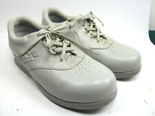 a273d3a388 DREW Women's Size 8.5 W Parade Taupe Gray Leather Lace Up Oxford Shoes