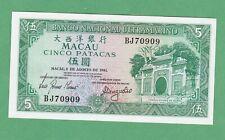 BNU 76b P-76 UNC Macao // Macau 10 Patacas 2001