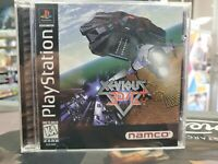 Xevious 3D/G+ Playstation 1 2 3 PS1 PS2 PS3 Complete -- S2G --
