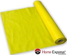 Yellow plastic polythene sheet - vapour barrier foil - sheeting 135 [Mu] 100m²
