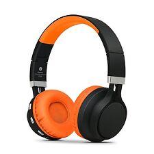 RockPapa Bluetooth Wireless Headphones Foldable f Kindle Fire SmartPhones Orange
