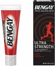 Bengay Ultra 4oz .UK SELLER Same Day Dispatch